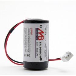 Batterie 3,6V pour sirène