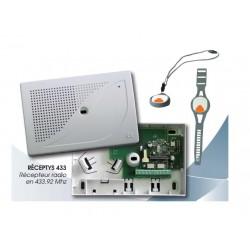 Récepteur radio 433Mhz 2 canaux pour Emetteur Emetys