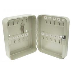 Armoire porte 20 clefs coffret rangement coffre fort sécurité
