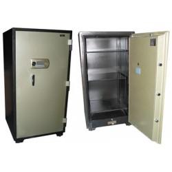 Coffre fort armoire métal ignifugé serrure serrure code clef sécurité anti feu