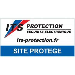 """Lot de 5 autocollants """"site protégé"""""""
